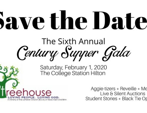 Treehouse Century Supper Gala 2020 – Save The Date
