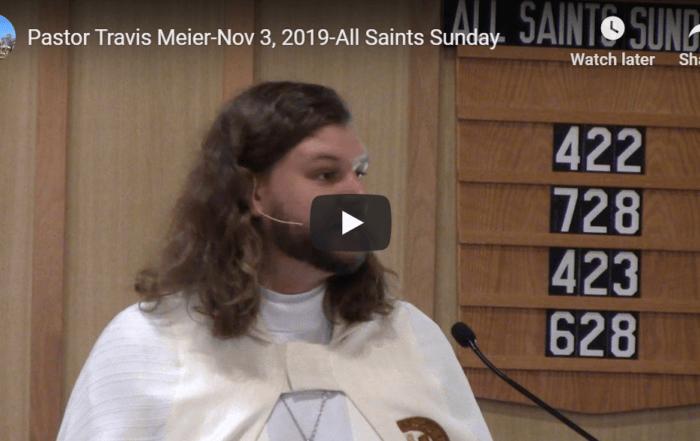 Sermon November 3