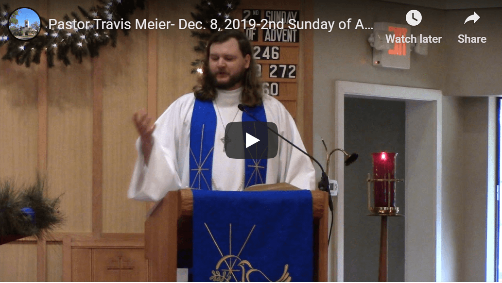 Sermon December 8