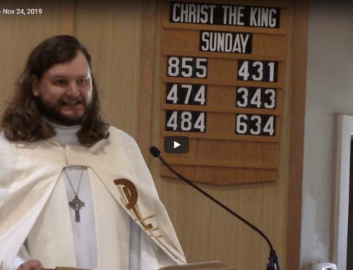 Sermon – November 24