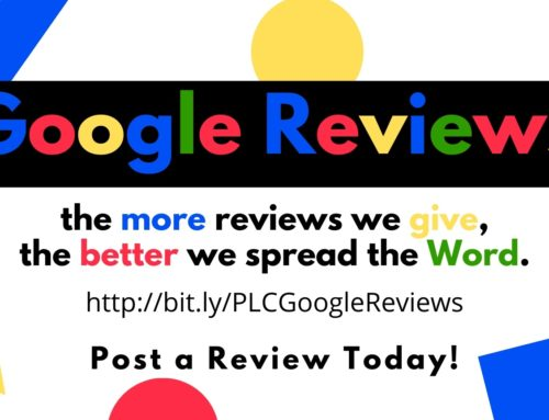 We Need Your Help With Google Reviews!