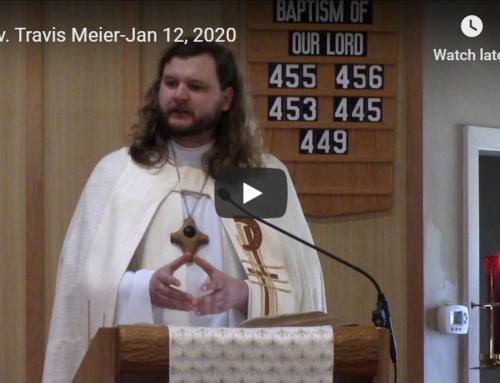 Sermon – January 12