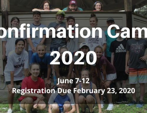 Confirmation Camp 2020