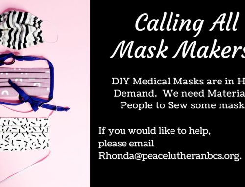 Calling All Mask AND Scrub Hat Makers!