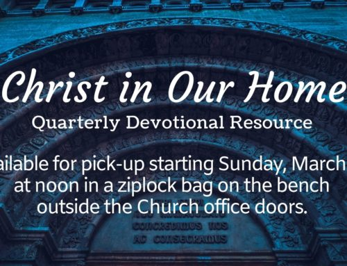 Christ In Our Home Daily Devotionals