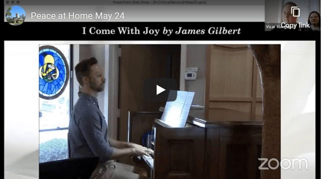 Peace at Home May 24