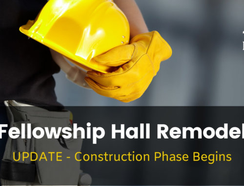 Fellowship Hall Remodel Project – September 4 Update!