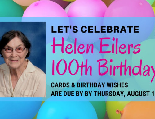 Helen Eilers Is Turning 100 on August 19