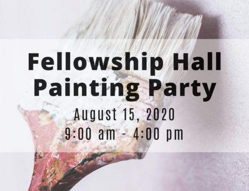 It's Time For A Fellowship-Hall-Painting-Party!