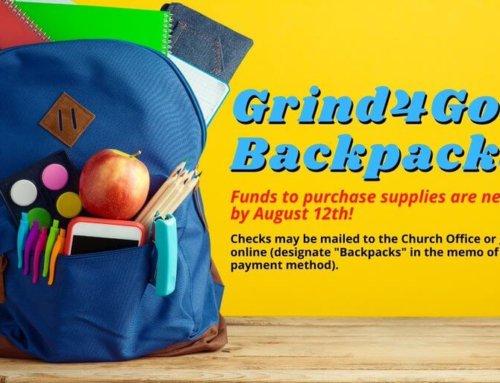 Grind4God Backpacks for School Children