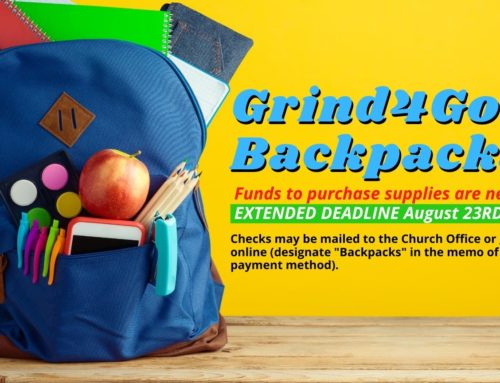 Grind4God Backpacks for School Children – UPDATE!