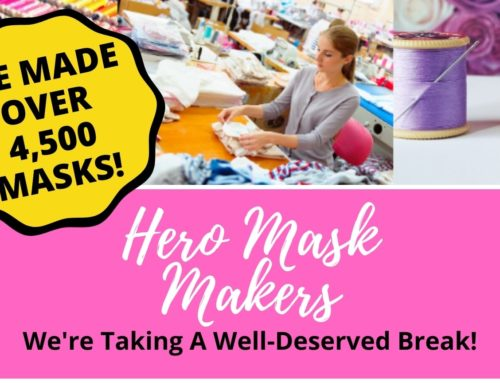 Hero Mask Makers – Congratulations!