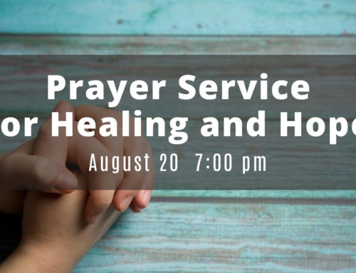 Prayer Service for Healing and Hope