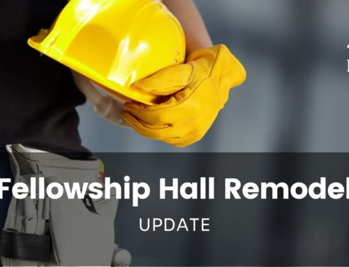 Fellowship Hall Remodel Project – September 8 Update