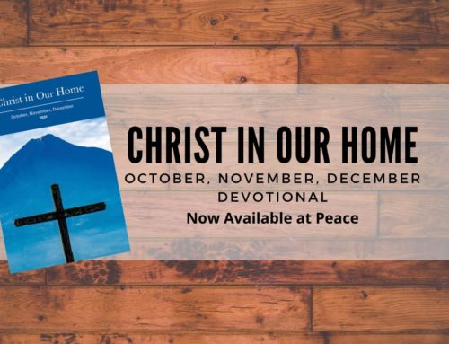 Christ In Our Homes Daily Devotional – 4th Quarter 2020