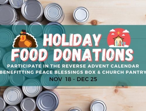 Making Christmas Meaningful – Advent Food Donations