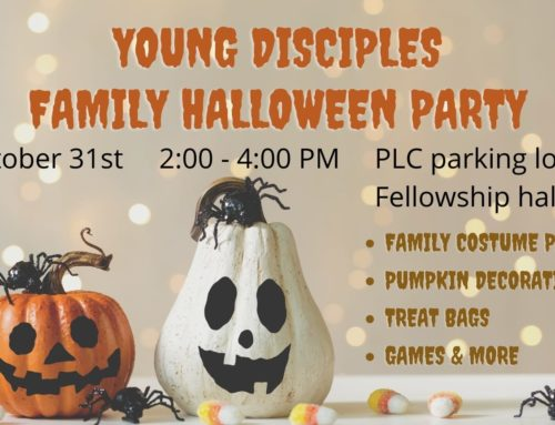 Young Disciples Halloween Party – October 31, 2020