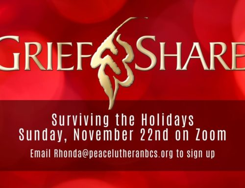 GriefShare – Surviving The Holidays 2020