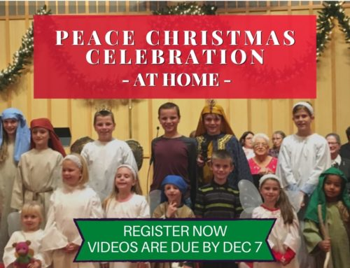 Help Create the Peace Christmas Celebration – At Home