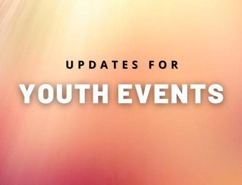 Youth Events Update – Effective 11/15/2020