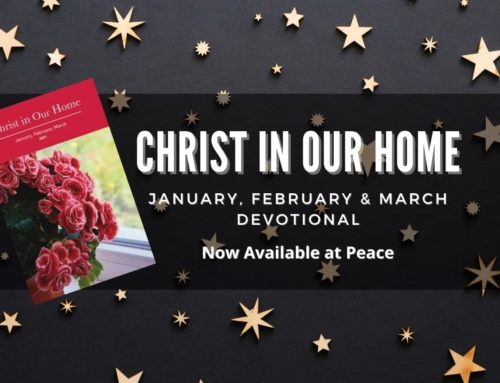 Christ In Our Homes Daily Devotional – 1st Quarter 2021