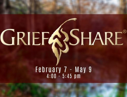 GriefShare – Spring 2021 Session