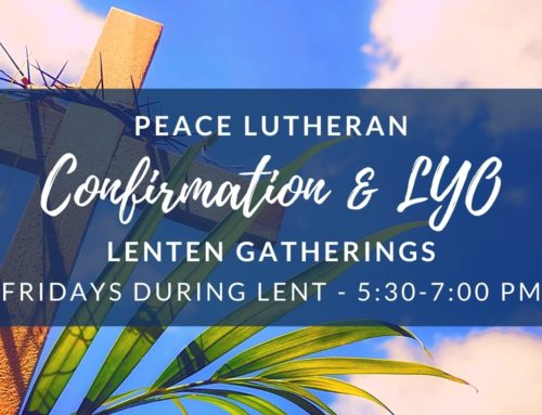 Youth Lenten Hangout 2021