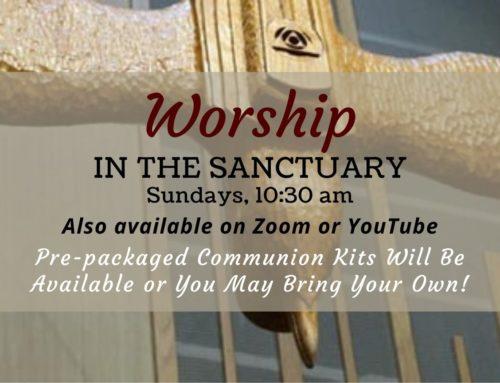 Return to Worship – 2021
