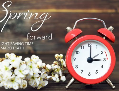 Spring 2021 Daylight Savings Begins